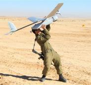 اسقاط طائرة اسرائيلية في غزة