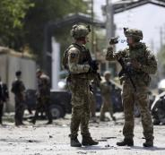 قتلى في صفوف الجيش الافغاني