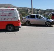 8 اصابات في حوادث سير متفرقة في جنين