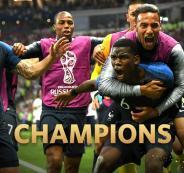 فوز فرنسا بكأس العالم