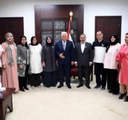 الوفد الكويتي في فلسطين