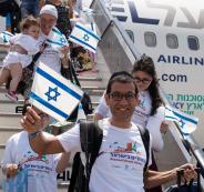 يهود يهاجرون الى فلسطين