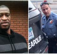 الشرطي الامريكي والضحية