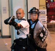 شرطة هونغ كونغ والمسلمين