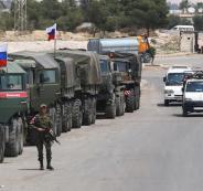القوات الروسية في ادلب