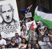 تظاهرة ضد نتنياهو في استراليا