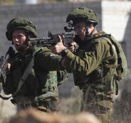 اطلاق النار على فلسطينيين