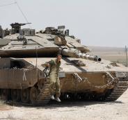 مناورة عسكرية اسرائيلية في الجولان