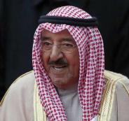 طائرة مسيرة تحوم فوق قصر امير الكويت