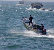 مسيرة مائية في قطاع غزة