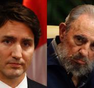 رئيس الوزراء الكندي ابن كاسترو