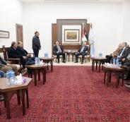 الرئيس ابو مازن ورئيس بلدية الناصرة
