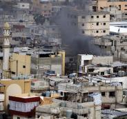 اشتباكات عنيفة في مخيم عين الحلوة بلبنان
