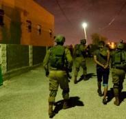 اعتقالات في مخيم الجلزون