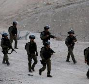 الجيش الاسرائيلي والخان الاحمر