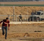اطلاق النار على متظاهرين في غزة
