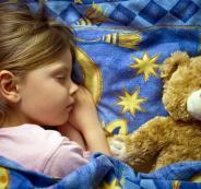 نوم الاطفال