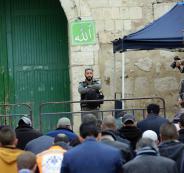 اغلاق ابواب الاقصى في القدس