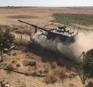 المدفعية التركية والقوات السورية