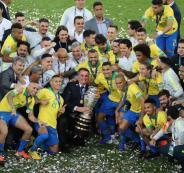 البرازيل وكوبا اميركا