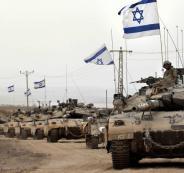 تدريبات اسرائيلية على حدود غزة