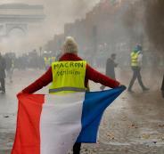 تظاهرات في فرنسا