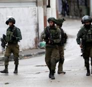 اعتقالات الجيش الاسرائيلي في الضفة الغربية