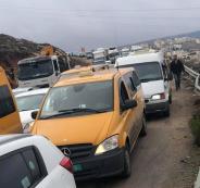 احتجاز مركبات غرب القدس