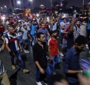 تظاهرات في  مصر تطالب برحيل السيسي