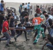 الشهداء في غزة خلال مسيرة العودة