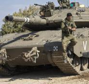 تدريبات الجيش الاسرائيلي في غلاف غزة
