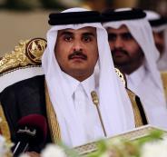 أمير قطر يدشن حسابه الشخصي على