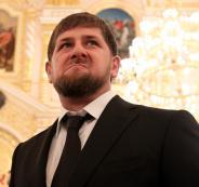 الرئيس الشيشاني والفرنسيين