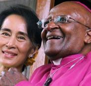 حفيدة غاندي وزعيمة ميانمار
