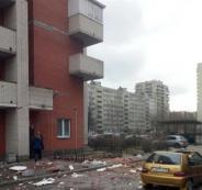 انفجار في مبنى سكني بسان بطرسبرغ