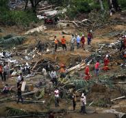 زلزال بقوة 5.7 درجة يضرب اندونيسيا