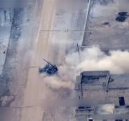 قصف يستهدف مستودعات اسلحة تركية في ليبيا
