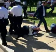 هجوم حراس الرئيس التركي على متظاهرين في واشنطن