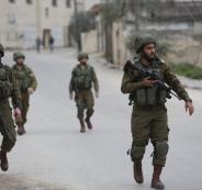 اطلاق النار على قوة للجيش الاسرائيلي في جنين