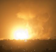 اسرائيل والغارات على ايران