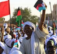 البحرين والتظاهرات في السودان