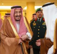 الملك سلمان في مكة المكرمة