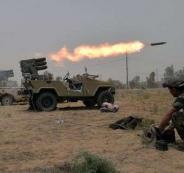 الجيش العراقي والبشمركة وداعش
