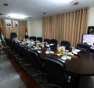 مجلس الوزراء في غزة