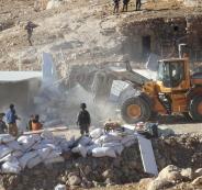 اسرائيل تهدم مبان مولها الاتحاد الاوروبي