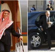 بوتين وعرس ابنة طيار الملك الاردني