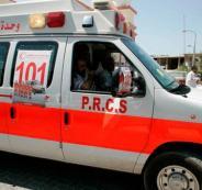اصابات بحادث سير في جنين