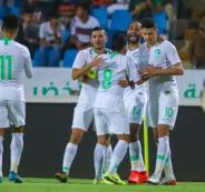 موعد المنتخب السعودي والفلسطيني