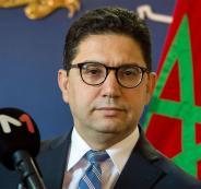 وزير الخارجية المغربي والفلسطينيين