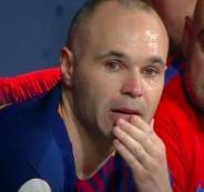 إنييستا يكشف عن مستقبله مع برشلونة